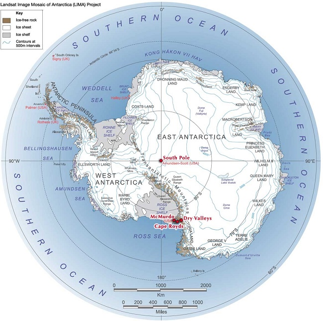 Antarctica A Brief