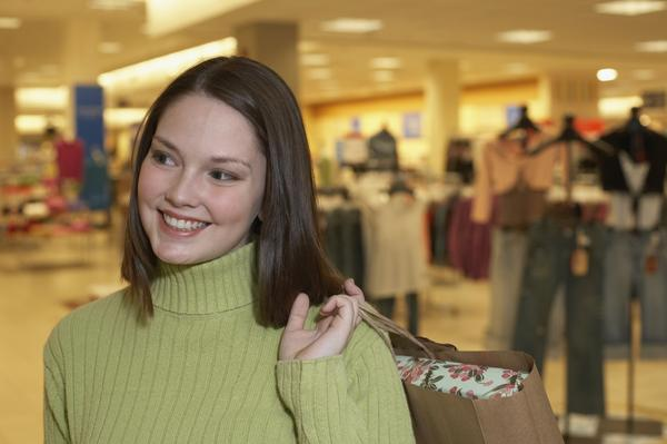 Go to Mall and Visit Luxury Brands