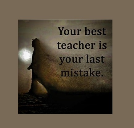 It Doesn't Matter If You Make Mistakes