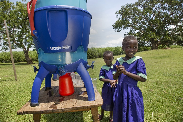 Different Water Purifying Products by LifeStraw