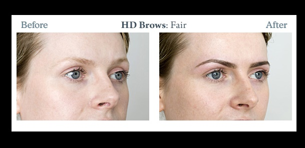 What is the HD brow treatment