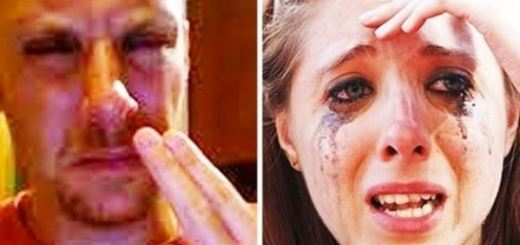 Boyfriend blindfolds her girlfriend for a surprise and makes the mistake of his life
