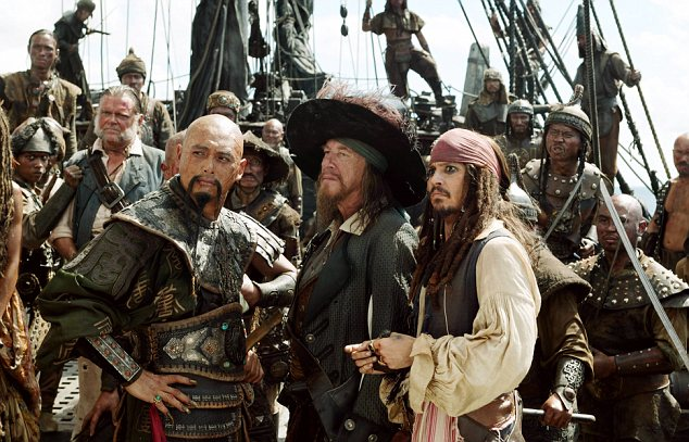 "Depp brought warm jackets worth $62,000 during the shoots of ""Pirates of the Caribbean: On Stranger Tides"""