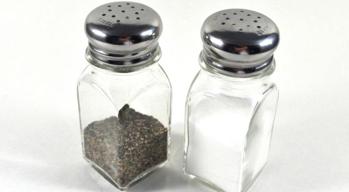 Salt and pepper should always be passed together