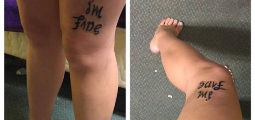 See how Rebekah Miles addresses depression with one clever tattoo