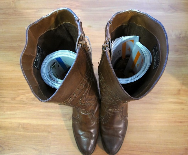 How to maintain the shape of your boots
