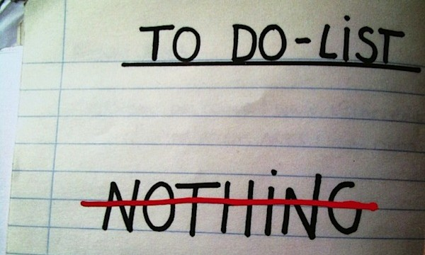 It's needing to do everything, but wanting to do nothing at all