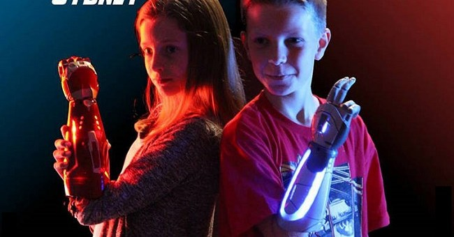 This company makes superhero and Disney themed prosthetic hands for children