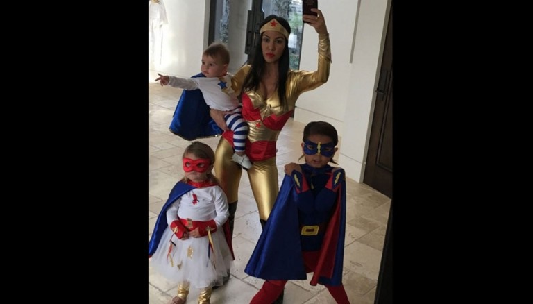 A family of Superheroes