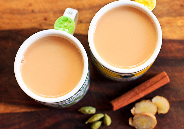 Recipe for a perfect cup of ginger tea