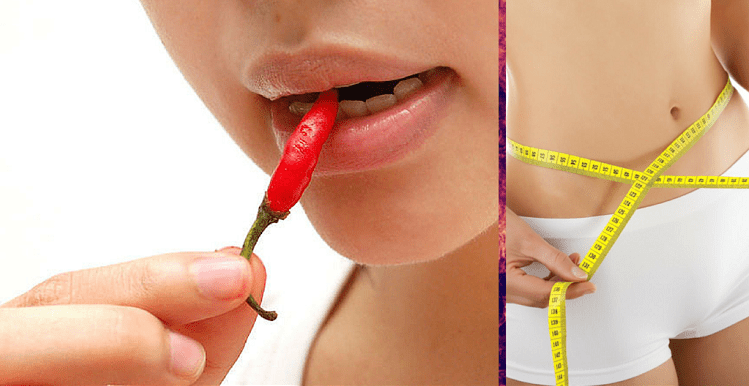 Spicy food helps in weight loss