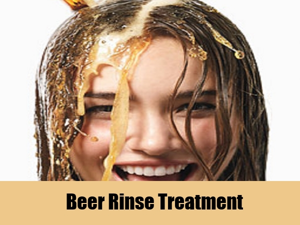 Beer treatment for adding volume, shine and quality