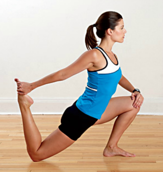 Quadriceps Stretch