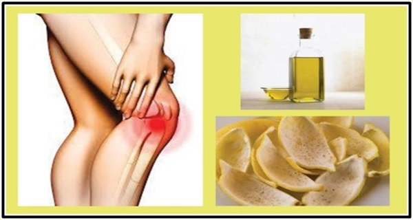So how do I use lemons to cure joint pain?