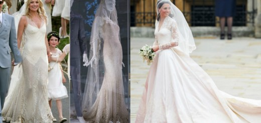 Celebrity worn wedding dresses so iconic and beautiful, that we want to get married In them NOW!