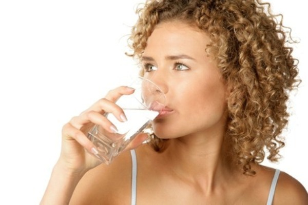 Drink water when you feel hungry