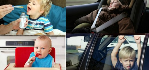 For your child's safety, please stop doing these things immediately!