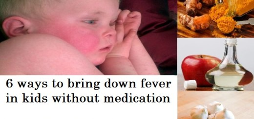 Simple and effective ways to bring down fever in kids without medication
