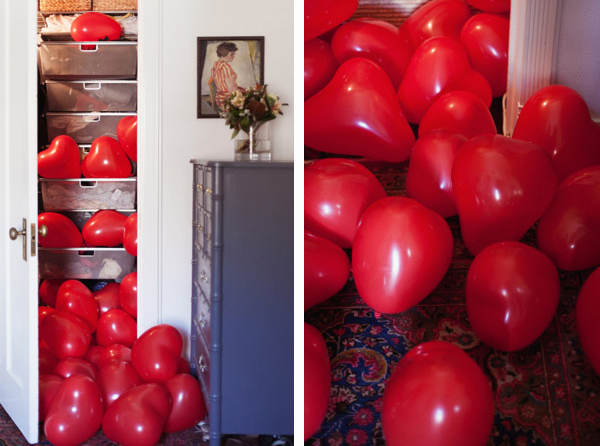 Be creative with balloons