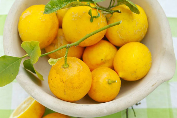 Include lemons in several ways in your diet