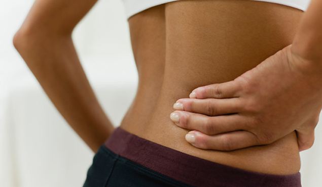 sharp pain in the lower right hand side of your abdomen?