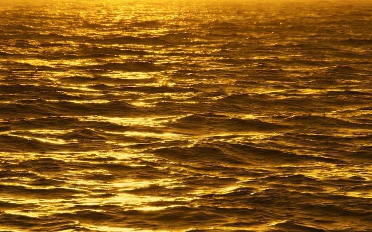 All the gold in the ocean