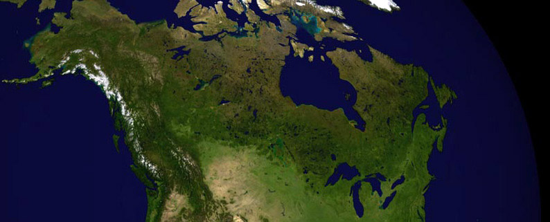 Canada have lesser gravity than the rest of the earth