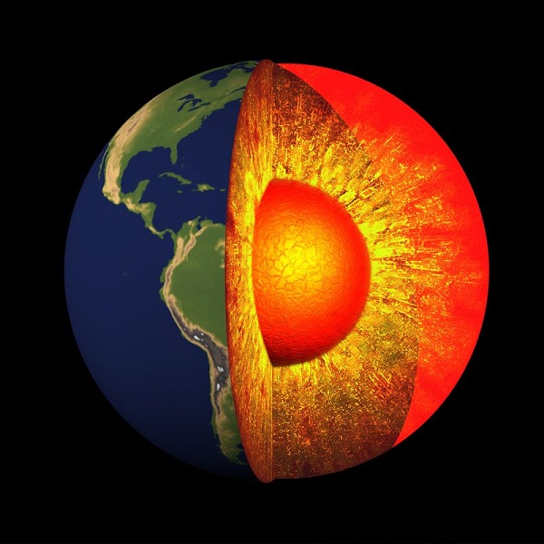 Earth's core has enough gold to coat its entire surface