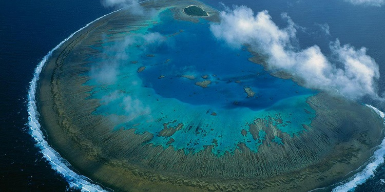 Great Barrier Reef is largest living structure on Earth