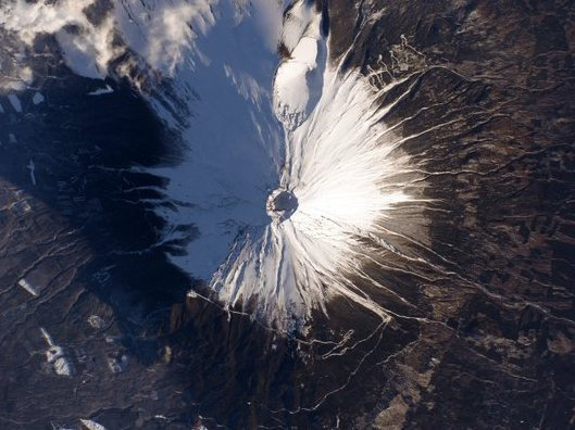 Mt.Fuji from Space