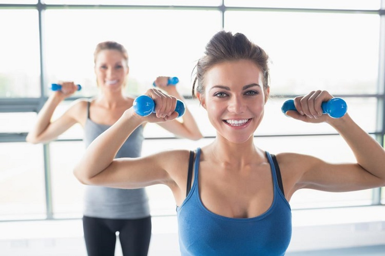 Muscle tissue burns calories three times faster than fats