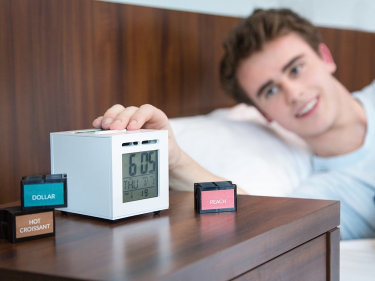 Sensorwake: Wake up with your favorite smell