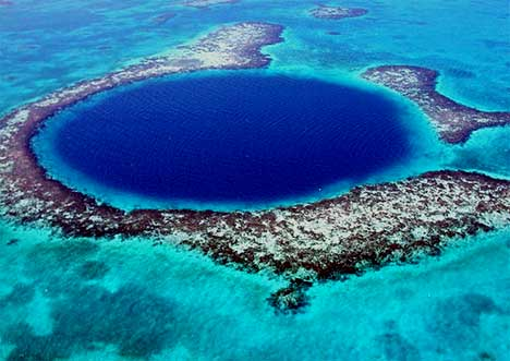 The Great Blue Holes