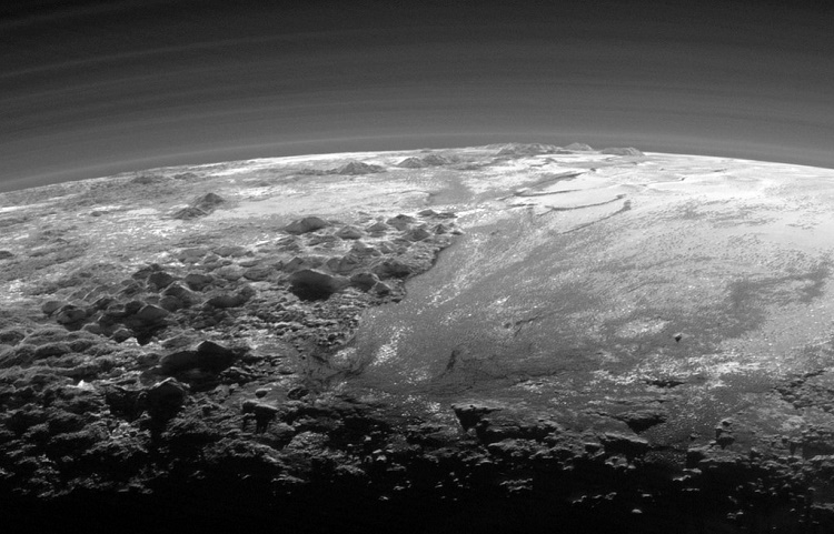 The planet with many terrains!