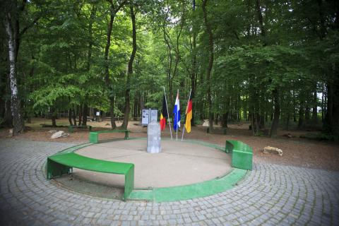 The point of confluence for Germany, Netherlands and Bleguim