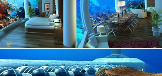 These unbelievably amazing rooms of underwater hotels will leave you awestruck!