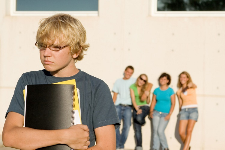 What are the factors that cause moody behavior among the teens?