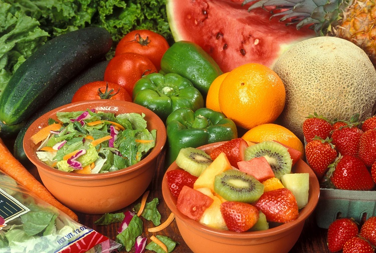 Less Intake of Fruit and Vegetables