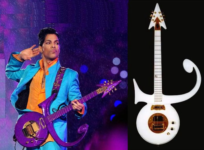 At His Gig in the First Avenue Nightclub Prince Used a $ 200 MADCAT Guitar