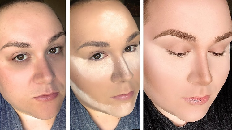 Trying a Complicated Makeup Technique like Contouring