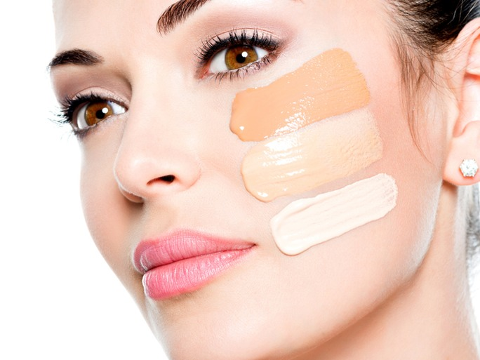 Using Wrong Shade (Or Too Much) Foundation