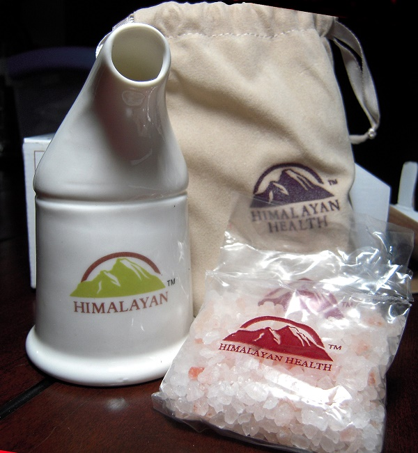 Salt therapy also known as speleotherapy