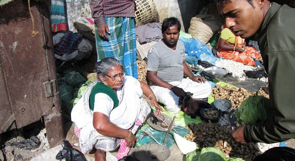 Subhashini sold vegetables for 20 years