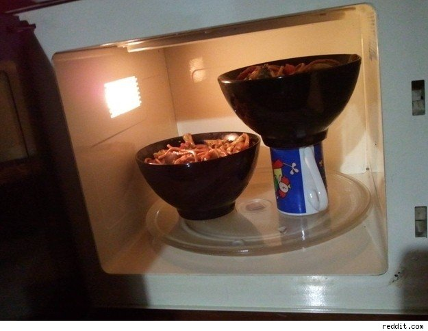 use the microwave effectively
