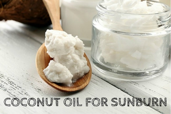 Coconut oil Reduces the Risk of Sun Burn
