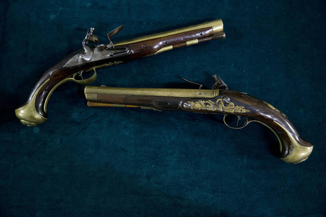 English Pistols of General Muhlenberg