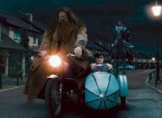 Hagrid and harry potter