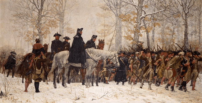 March to Valley Forge
