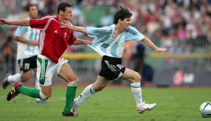 Messi's World Cup Debut Lasted 44 Seconds