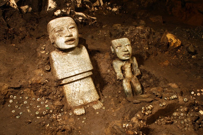 Teotihuacan discovered by the Aztecs